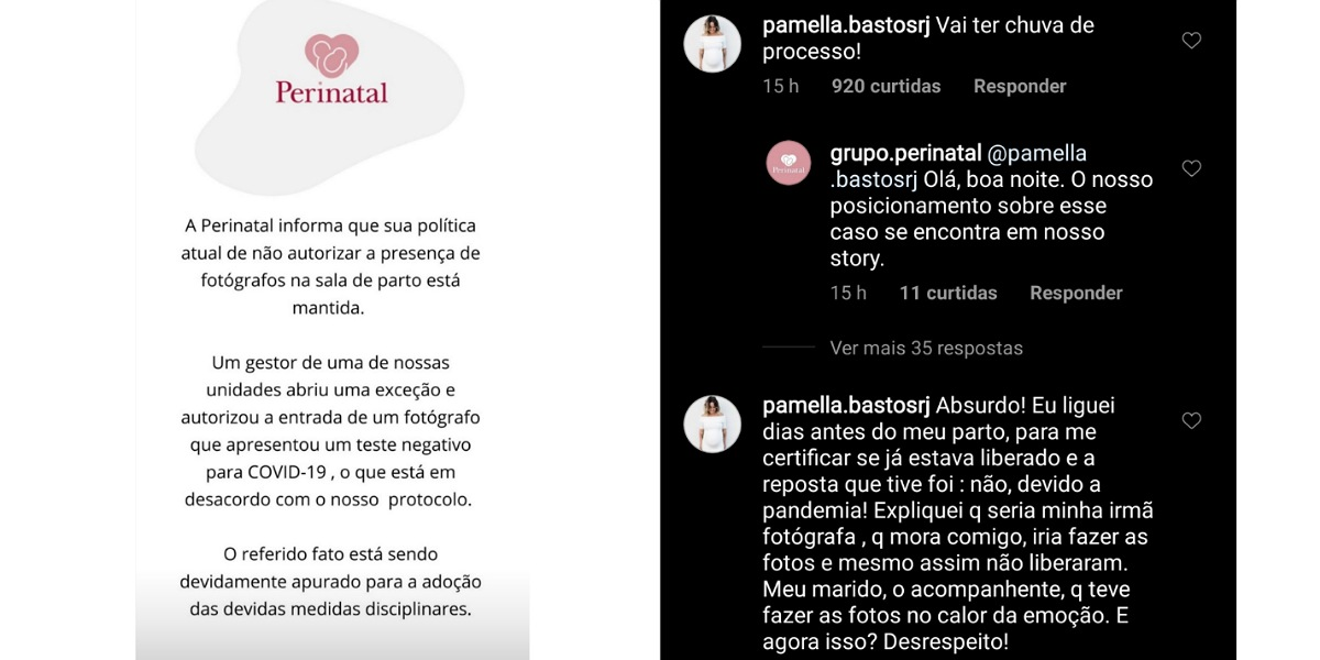 Após polêmica envolvendo Giovanna Ewbank e Bruno Gagliasso, Grupo Perinatal se pronuncia (Foto: Reprodução/Instagram)