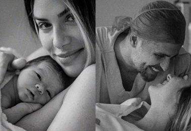 Giovanna Ewbank e Bruno Gagliasso se envolvem em polêmica após nascimento de Zyan (Foto: Reprodução/Daniela Justus)