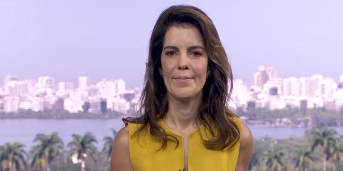 Mariana Gross assume lugar de Ana Paula Araújo no Bom Dia Brasil (Foto: Reprodução / TV Globo)