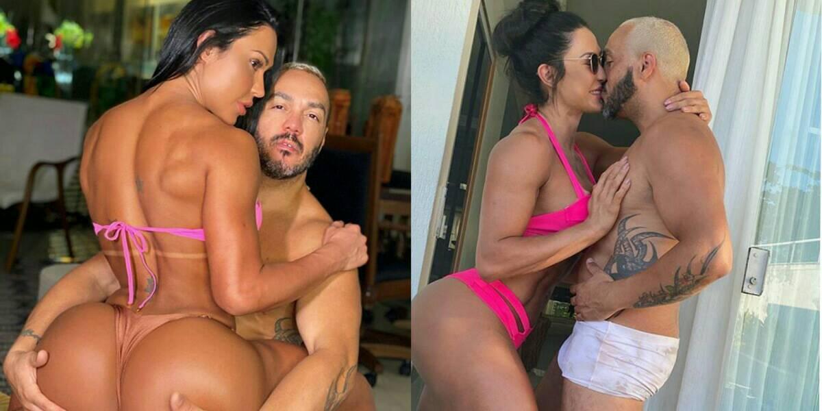 Gracyanne Barbosa e Belo são casados (Foto: Reprodução/Instagram)