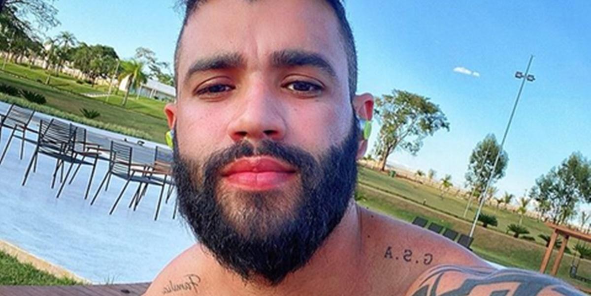 Gusttavo Lima recebeu pedido especial em comentário de vídeo (Foto: Reprodução)