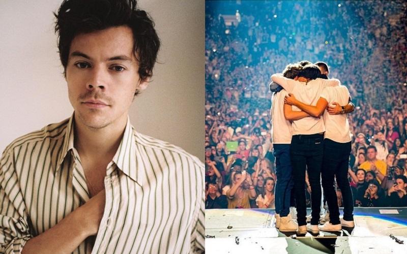 Harry Styles emociona com mensagem no dia do aniversário de 10 anos do One Direction (Foto: Reprodução)