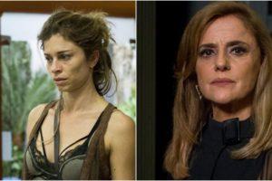 Grazi Massafera e Marieta Severo foram destaques em Verdades Secretas. (Foto: Montagem/Divulgação)
