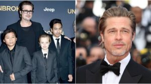 Brad Pitt não fala com dois dos seus filhos. (Foto: Montagem/Reprodução)
