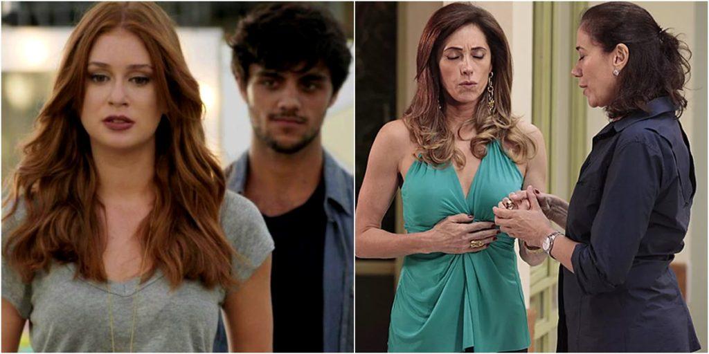 Reprises de Totalmente Demais e Fina Estampa são sucesso na Globo. (Foto: Montagem/Reprodução)