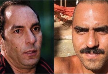 Edmundo tem relação conturbada com o filho, Alexandre Mortágua. (Foto: Montagem/Divulgação)