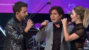 Xororó ficou revoltado com apresentador que expulsou Sandy e Junior de programa. (Foto: Reprodução)