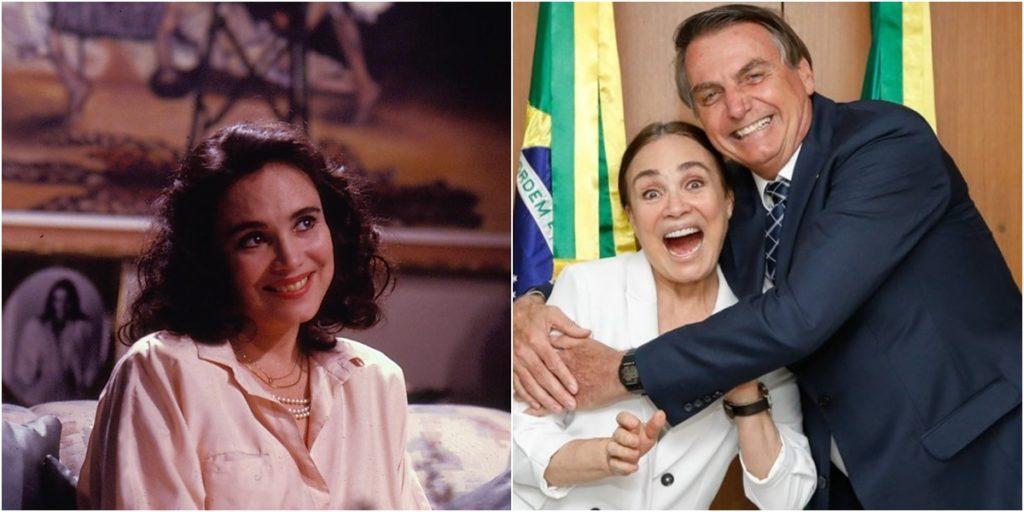 Regina Duarte foi protagonista de Vale Tudo. (Foto: Montagem/Divulgação)