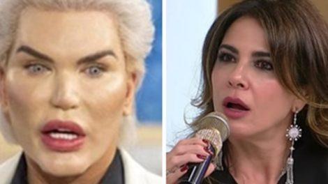 Ken Humano exibiu transformação no SuperPop e deixou Luciana Gimenez Chocada (Foto: Montagem/TV Foco)
