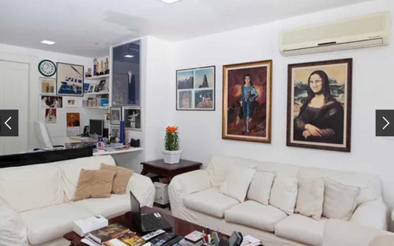 Sala da Mansão de Renato Aragão (Foto: Reprodução)