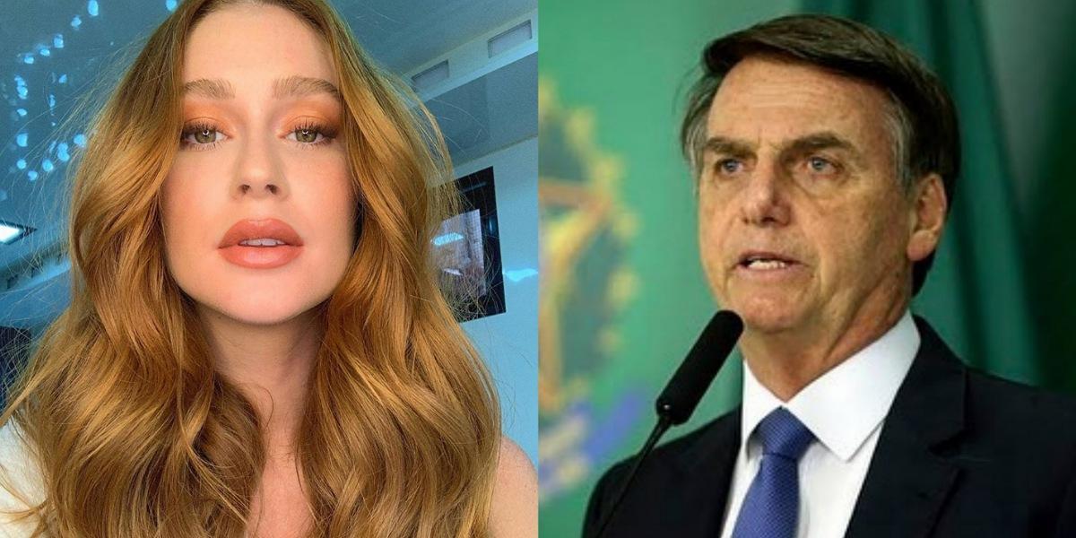 Atriz Marina Ruy Barbosa mostra insatisfação com cultura brasileira e critica governo Bolsonaro (Foto: Reprodução/Instagram)