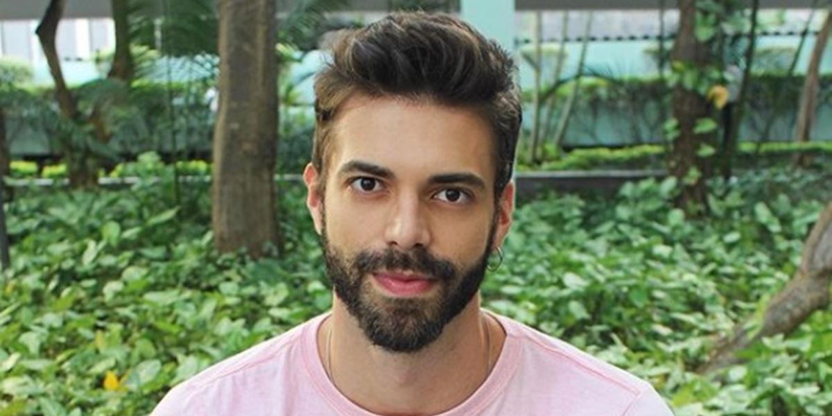 Matheus Magalhães, ex de Leonardo Vieira (Foto: Reprodução)