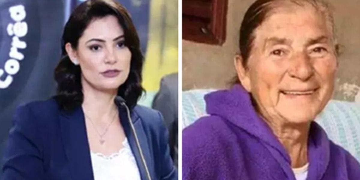 Michelle Bolsonaro abandonou avó em esgoto após escândalo (Foto: Montagem/TV Foco)