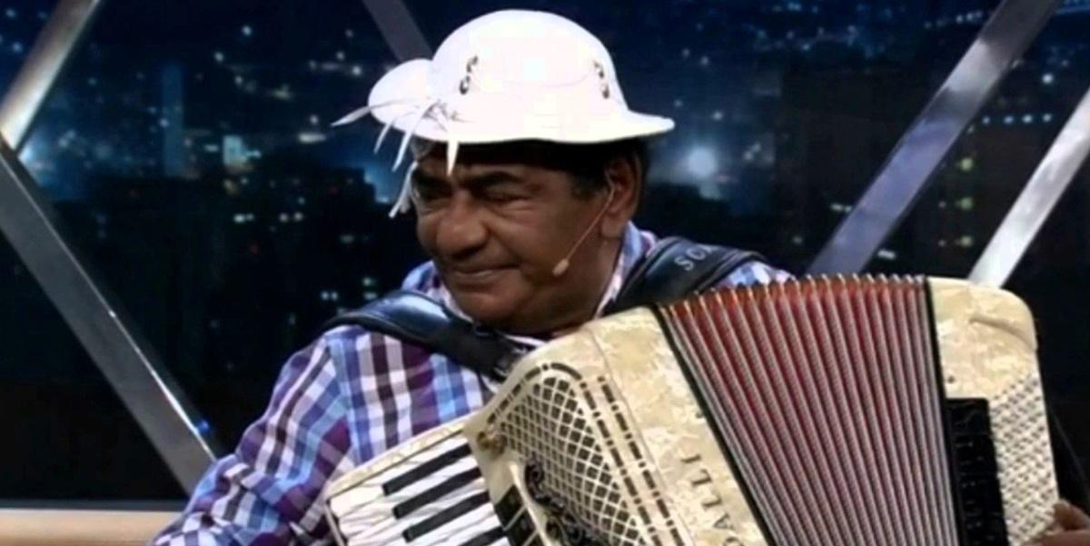 Morte: Pinto do Acordeon morreu em São Paulo, após luta contra câncer (Foto: Reprodução)