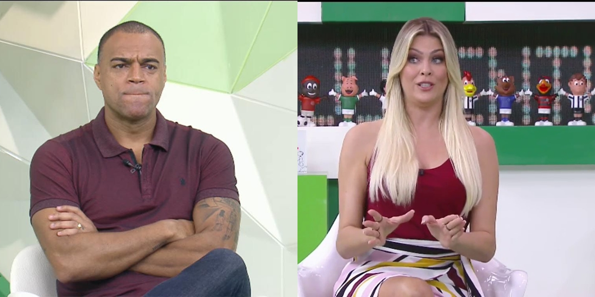 Renata Fan e Denilson