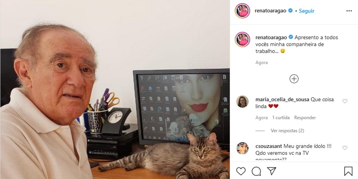 Publicação de Renato Aragão (Foto: Reprodução/Instagram)