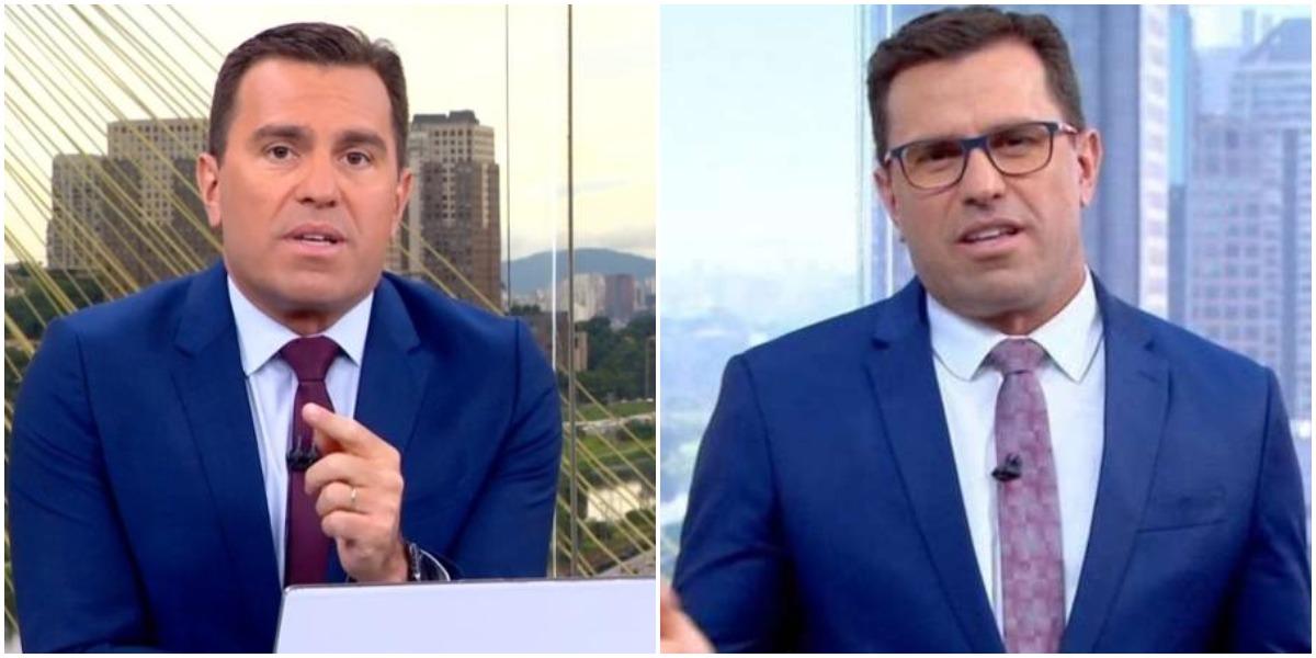 O apresentador da Globo, Rodrigo Bocardi (Reprodução)
