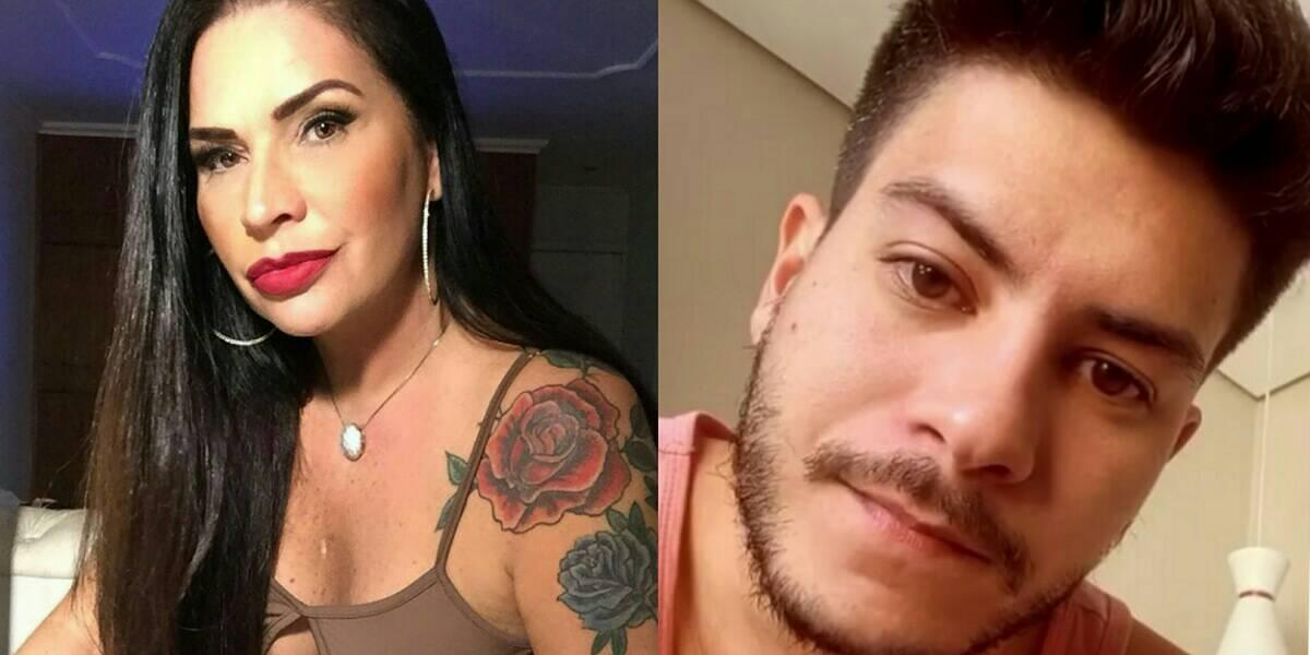 Solange Gomes expõe caso com Arthur Aguiar, ator nega (Foto: Reprodução/Instagram)