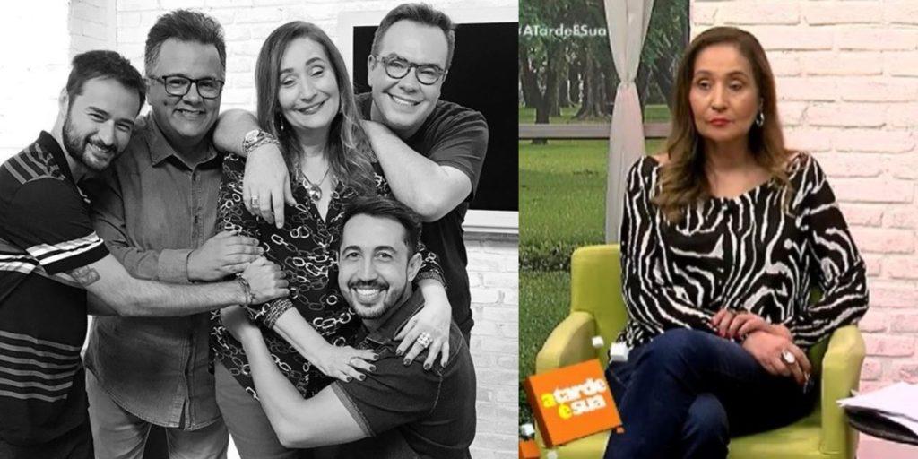 Sonia Abrão foi cobrada pela roda da fofoca no A Tarde é Sua (Foto: Reprodução/RedeTV!)