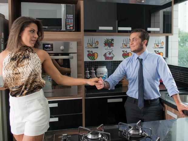 Família na cozinha (Foto: Cauê Moreno/Ed.Glob)