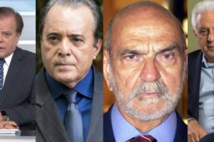 Lista de demitidos da Globo pode conter Chico Pinheiro, Antônio Fagundes, Tony Ramos e Lima Duarte