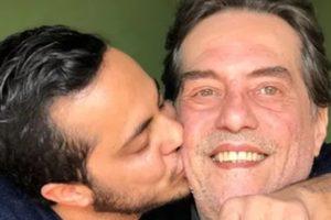 Thammy Miranda e o pai Silva Neto (Foto: Reprodução)