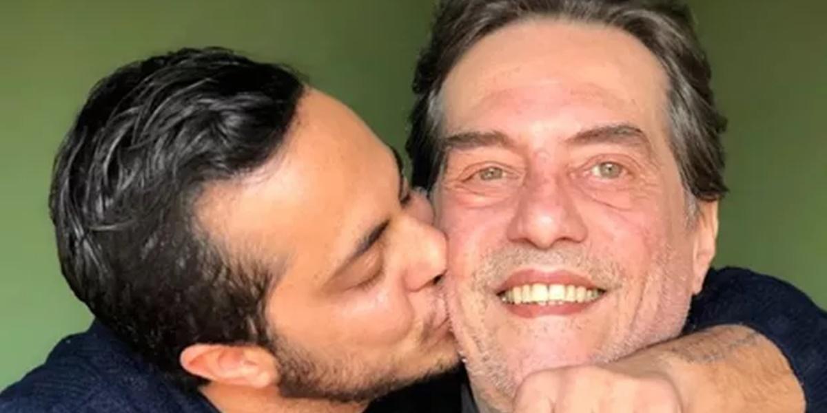 Gretchen: Thammy Miranda e o pai Silva Neto (Foto: Reprodução)