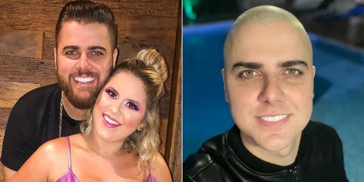 Natália Toscano, esposa de Zé Neto, expôs estado de saúde do cantor (Foto: Montagem)