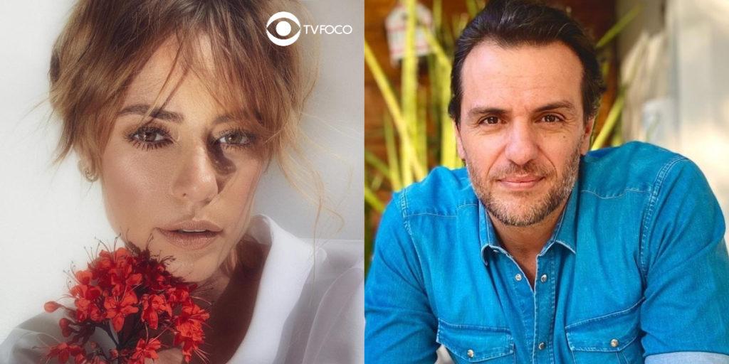 Paolla Oliveira e Rodrigo Lombardi foram Jeiza e Caio em A Força do Querer