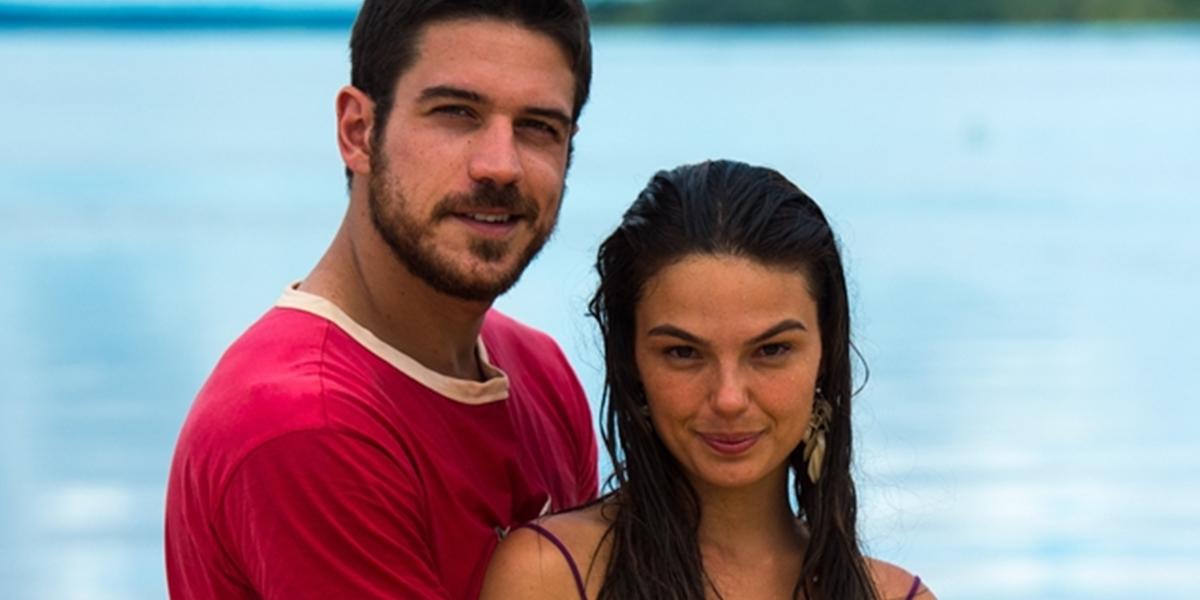 Zeca (Marco Pigossi) e Ritinha (Isis Valverde) (Foto: Globo/Estevam Avellar)
