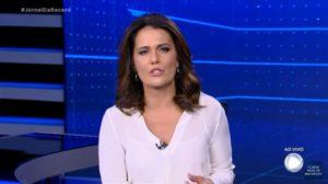 A jornalista Adriana Araújo - Foto: Reprodução
