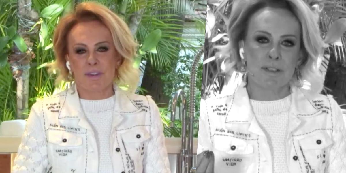 Ana Maria Braga participa do Encontro diariamente (Foto: reprodução/Globo)