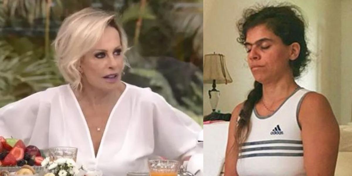 Ana Maria Braga é mãe de Mariana Maffeis (Foto: Reprodução/TV Globo/Instagram)