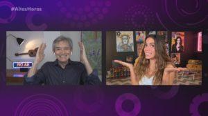 Anitta falou com Serginho Groisman no Altas Horas - Foto: Reprodução