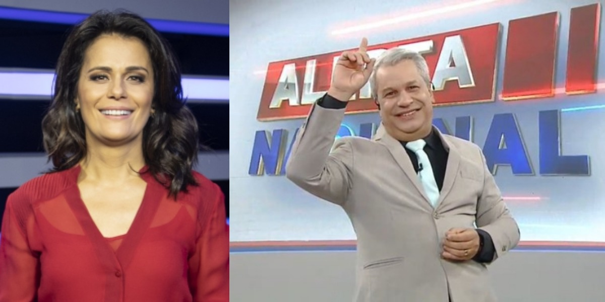 Jornal da Record e Alerta Nacional foram os destaques de audiência (Foto: Reprodução/Record/RedeTV!)