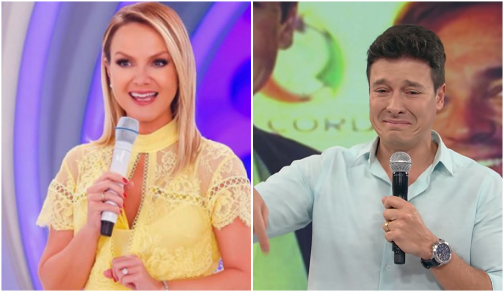 Eliana e Rodrigo Faro concorreram e loira se deu novamente melhor em audiência - Foto: Reprodução