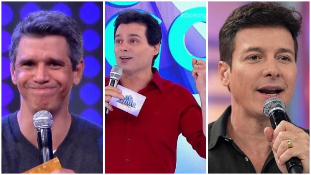 A audiência deste domingo foi bastante movimentada na televisão brasileira - Foto: Montagem