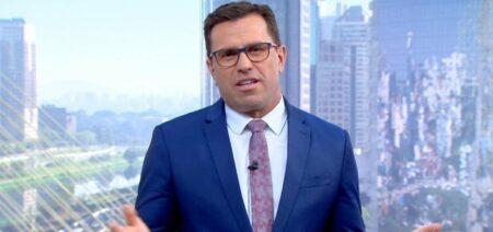 O jornalista da Globo Rodrigo Bocardi, que apresenta o Bom Dia SP (foto: Reprodução/TV Globo)
