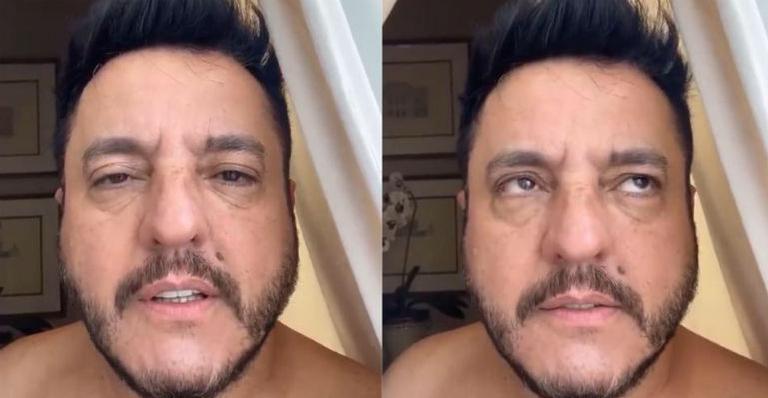 Bruno, da dupla com Marrone, teve que se desculpar (Foto: Reprodução)