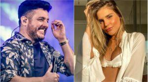 Bruno, parceiro de Marrone, flertou com Flávia Viana (Foto: Reprodução/ Instagram)