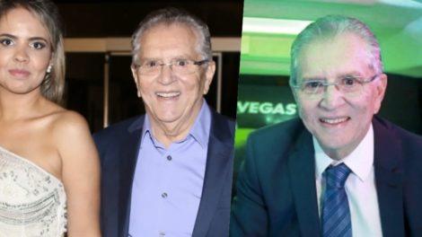 Carlos Alberto é casado com Renata Domingues (Foto: reprodução)