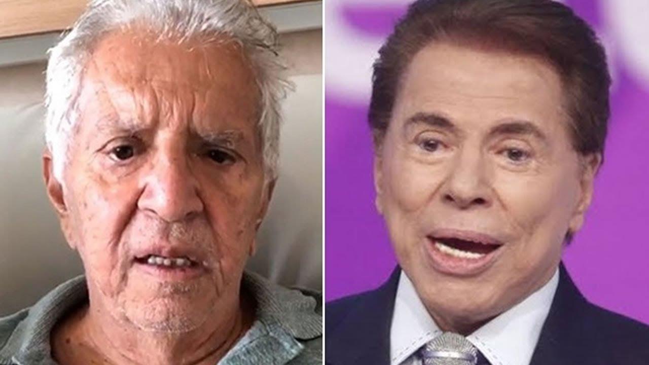 Carlos Alberto surpreendeu ao falar sobre Silvio Santos - Foto: Montagem