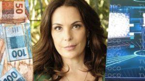 Carolina Ferraz estreará na Record em meio à ódio e processo com a Globo (Foto montagem: TV Foco)