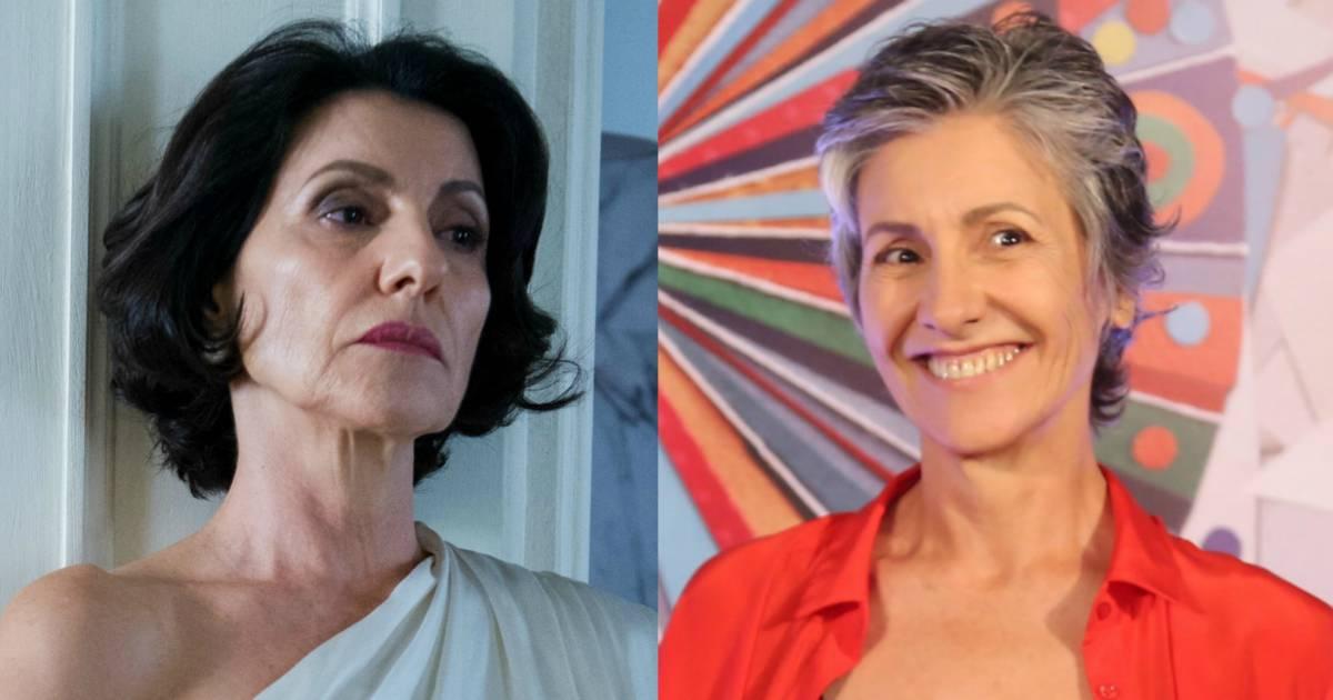 Cássia Kiss já protagonizou várias novelas na Globo (Reprodução)