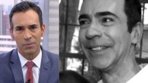 César Tralli já revelou chorar por causa da família (Foto: Reprodução/TV Globo)