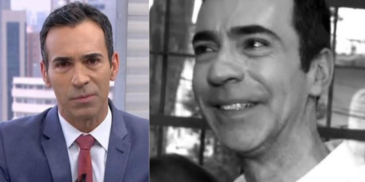 Cesar Tralli já revelou chorar por causa da família (Foto: Reprodução/TV Globo)