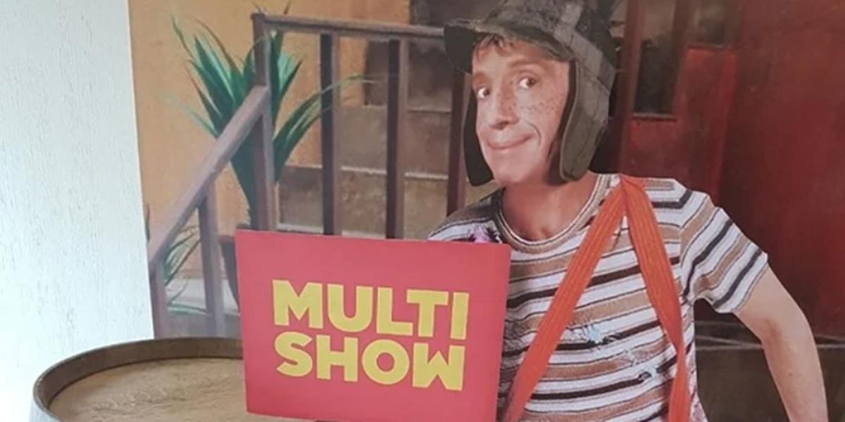 Chaves em divulgação do Multishow, que pode perder os direitos de exibição do seriado na TV Paga (Foto: Reprodução)