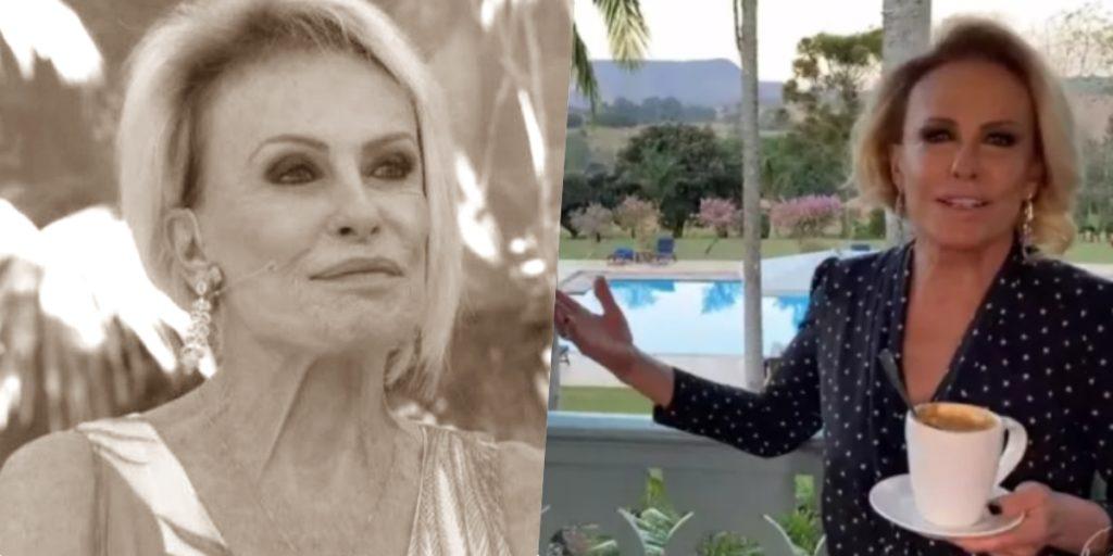 Ana Maria Braga segue fora do ar na Globo (Foto montagem: TV Foco)