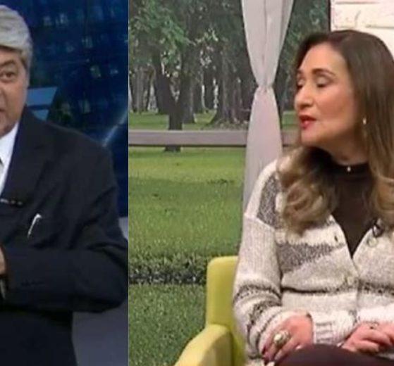 Datena entrou em contato com o programa de Sonia Abrão para lamentar morte (Foto: Reprodução/Band/RedeTV!)