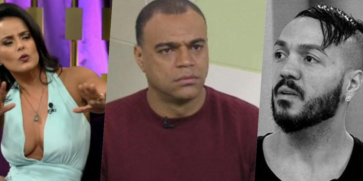 Denilson, casado com Luciele di Camargo, se envolveu com Belo novamente (Foto montagem: TV Foco)